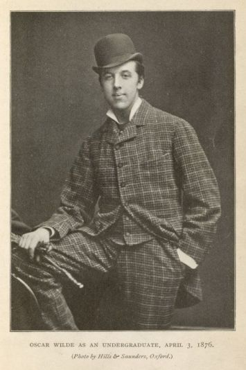 Oscar Wilde Oxford 1876